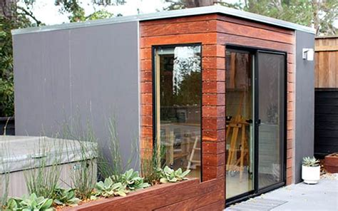Backyard Shed Office Plans 9 Sources For Midcentury Modern Sheds Prefab Diy Kits