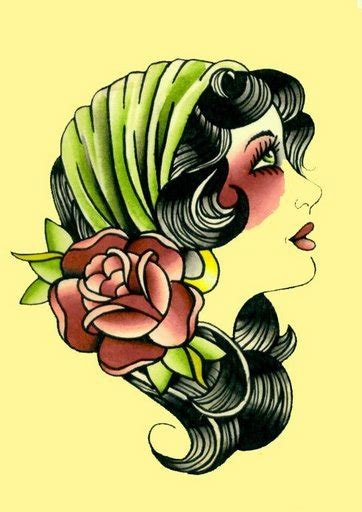 gypsy woman tattoo images designs