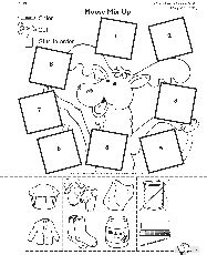 If You Give A Moose A Muffin Activity Sheet Az Coloring If You Give A Moose A Muffin Coloring Page