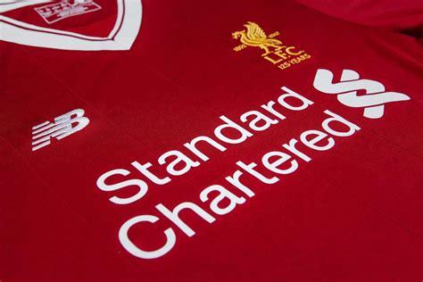 Liverpool Years liverpool 17 18 home kit released footy headlines