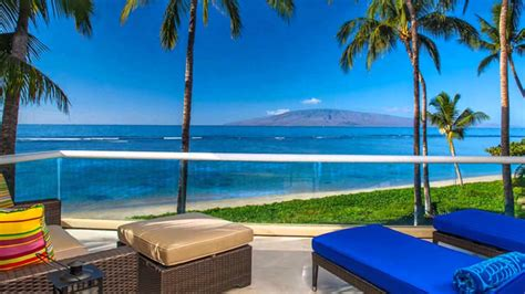 beach house rentals oahu lahaina baby beach oceanfront house luxury vacation rental maui hawaii youtube