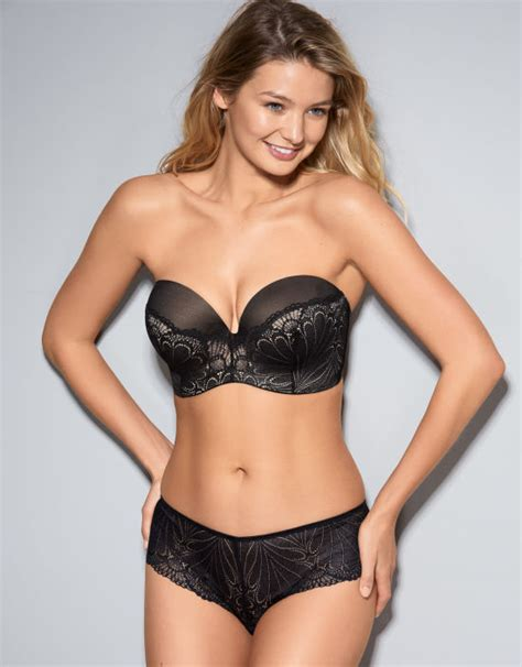 Found Strapless Bra by Refined Ultimate Strapless Bra In Black By