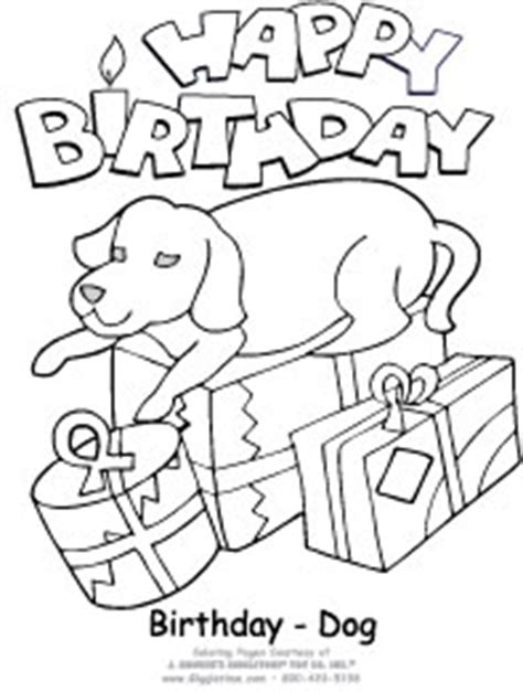 puppy birthday coloring page birthday coloring pages giggletimetoys com