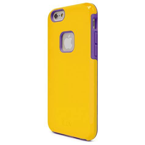 iluv regatta for iphone 6 6s yellow ai6regaye b h photo