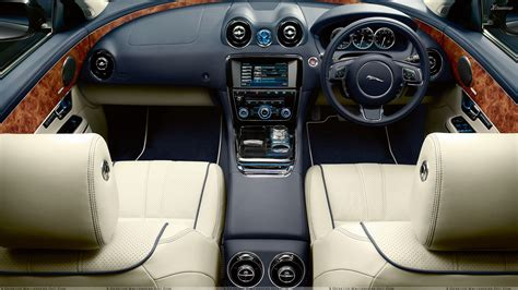 jaguar cars interior interior of jaguar xj wallpaper