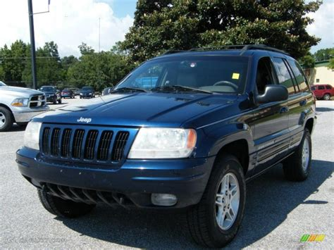 Jeep Grand Blue 2000 Patriot Blue Pearlcoat Jeep Grand Limited