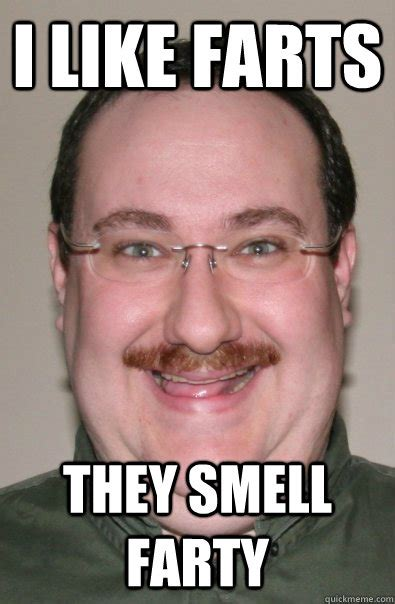 Meme With Mustache - i like farts they smell farty tony moustache quickmeme