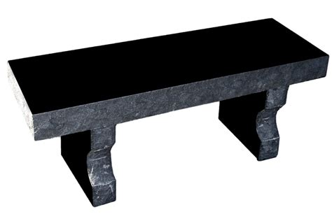 black granite bench memorial benches granite home decoration ideas