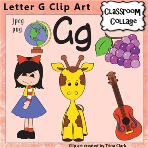 colors that start with g alphabet clip letter g items start with g color