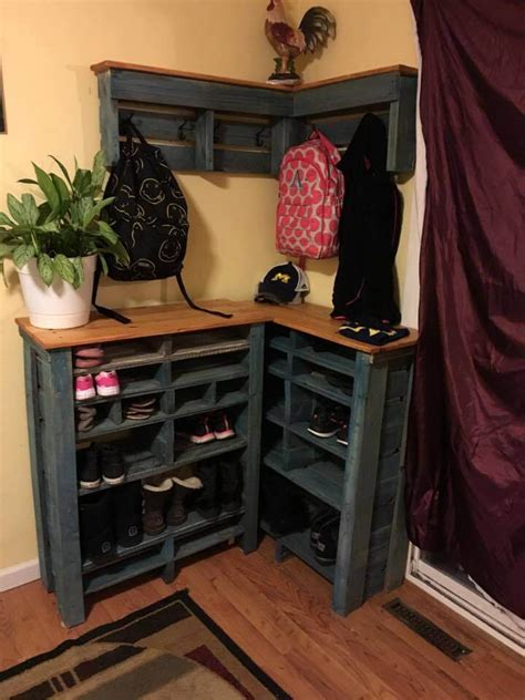 15 best shoe rack ideas 150 wonderful pallet furniture ideas