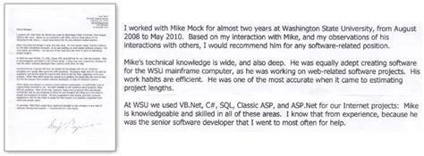 Washington College Letter Of Recommendation Mike Mock S Pullman Washington Portfolio