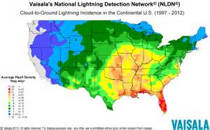 us lightning forecast map lightning safety awareness week
