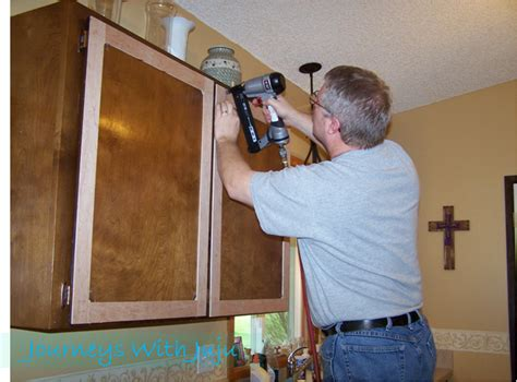 How To Give Your Kitchen Cabinets A Facelift Journeys With Juju Kitchen Cabinet Makeover Doors Drawers Facelift