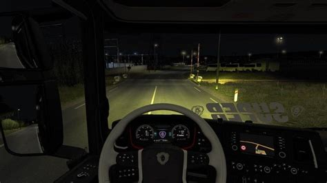 gelbe le ets 2 yellow xenon for scania nextgen 1 30 x v 1 0