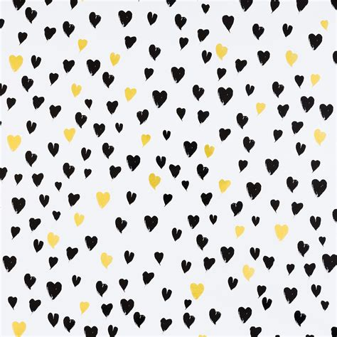 gold foil gift wrap black gold hearts foil gift wrap the container store