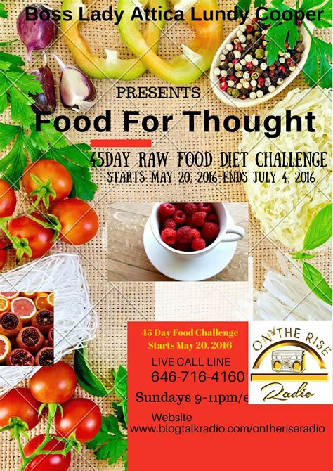 45 day diet challenge food for thought the 45 day food diet challenge on