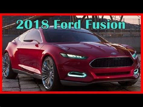 ford fusion 2018 | autos post