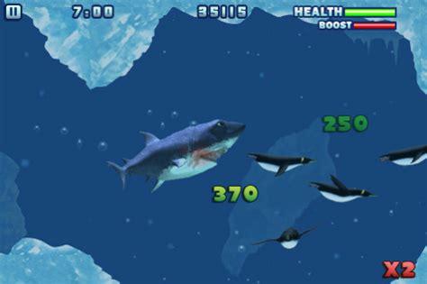 'hungry shark': more fun than a fresh block of chum