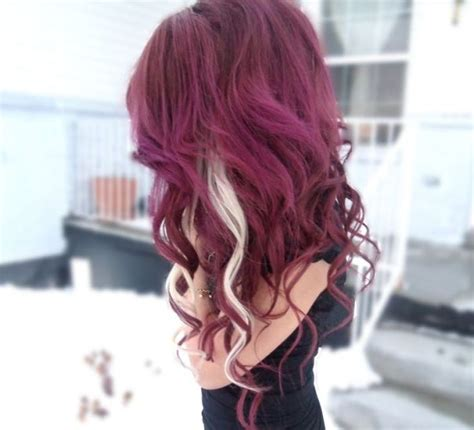 blonde and burgundy hairstyles 25 perfect burgundy hair color styles