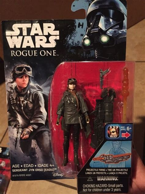 Hasbro Wars Rogue One 3 75 Galen Jyn Erso Figure Wave 4 New In S new wave of 3 75 quot rogue one figures revealed