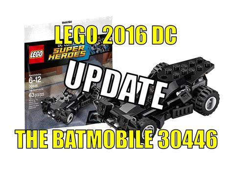 Lego 30446 Polybag Batmobile Superheros lego 2016 dc superheroes the batmobile 30446 polybag update