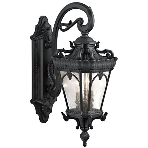 Kichler 9357bkt Two Light Outdoor Wall Mount Wall Porch Kichler Outdoor Lighting Fixtures