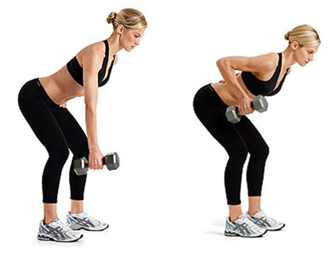 dumbbell rows without bench total body at home strength workout life in leggings