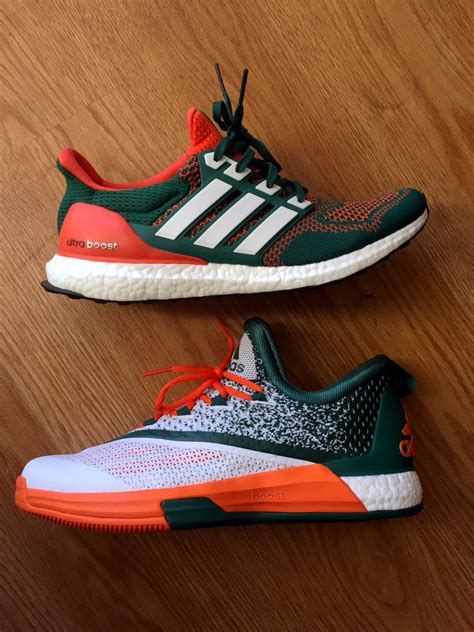 of miami sneakers the miami hurricanes more exclusive adidas sneakers