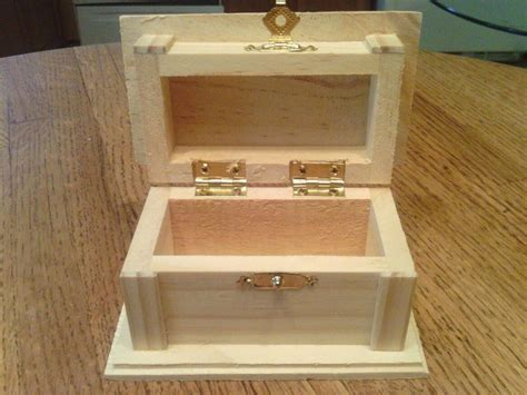 Handmade Wood Jewelry Box - small wooden jewelry box handmade 10 ebay