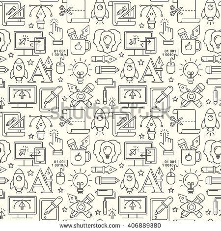 pattern design development vector graphic design seamless pattern grey stock vector