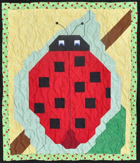 Ladybug Quilt Guild by Ladybug Quilt Pattern Cq 001 Advanced Beginner Wall Hanging