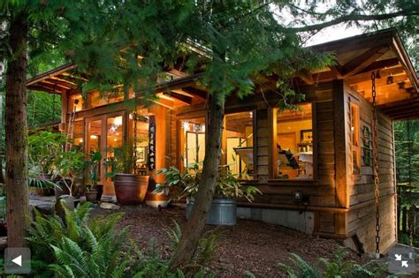 Small Home Vancouver Island Japanese Meets West Coast Inspired Timber Frame On