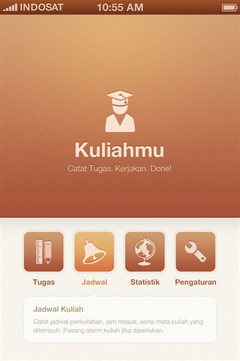 design menu application kuliahmu app menu design by faizalqurni on deviantart