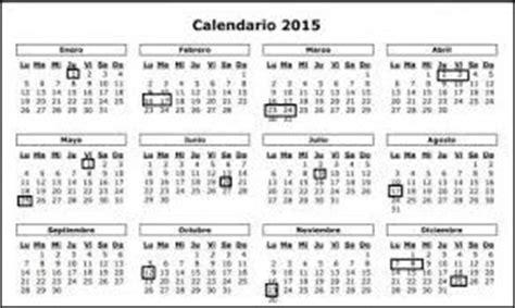 Calendario Kabbalah 2015 Consultar Feriados Nacionales Y D 237 As No Laborables 2015