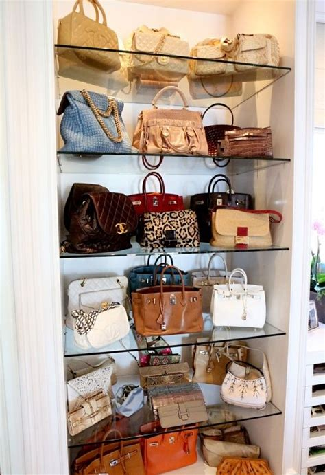 Handbag Closet Storage by 25 Best Purse Storage Ideas On Handbag Storage Handbag Organization And Purse