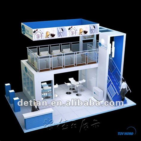 Home Design Story Level Up double deck booth with two level for exhibition buy
