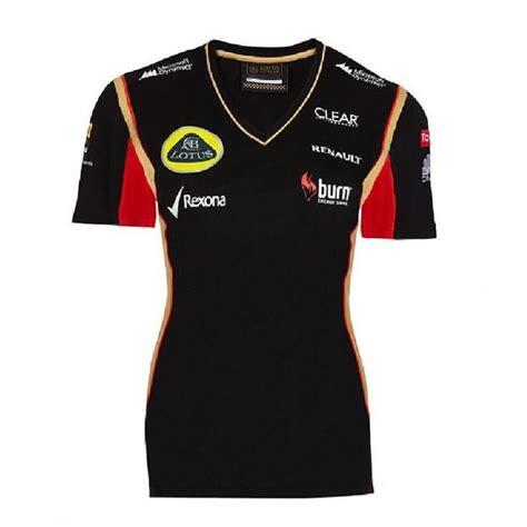Kaos F1 Lotus Team 1 lotus f1 team t shirt clothing from 195 mph uk