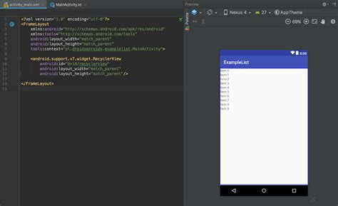 recyclerview layout manager how to implement a recyclerview droids on roids blog