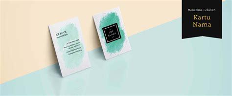 desain kartu nama makeup cetak kartu nama online selesai 2 jam mulai rp 15 000
