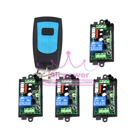 app controlled light switch smart house application rf wireless remote control light