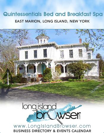 long beach island bed and breakfast quintessentials bed and breakfast spa east marion long