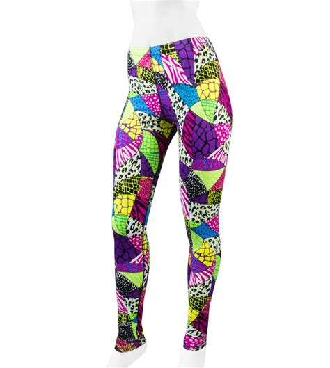 Patterned Exercise Tights | workout printed leggings the else