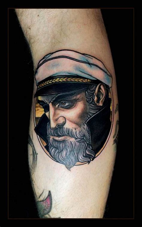 captain tattoo captain by daniel gensch at bl 228 ckfisk co in