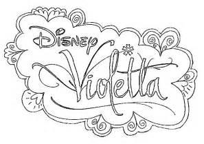 Coloriage Disney Channel Violetta 224 Imprimer