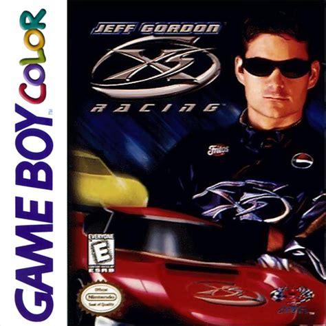 play jeff gordon xs racing nintendo game boy color online