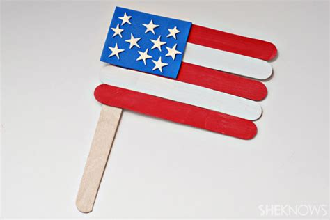 flag craft for 4 american flag crafts for memorial day