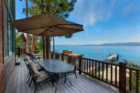 Lake Tahoe Cabin Rentals Lakefront by South Lake Tahoe Vacation Rentals Lakefront Home At 2201