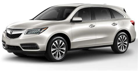 2015 acura mdx colors 2016 acura mdx exterior color options