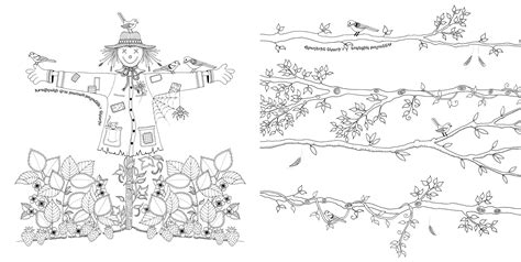 secret garden coloring book secret garden an inky treasure hunt and colouring book