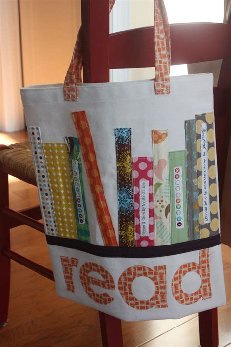 tote bag pattern books mom the end of the school year